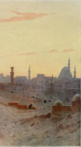 "Ilustracja z ""Egypt painted and described"" (1902)"